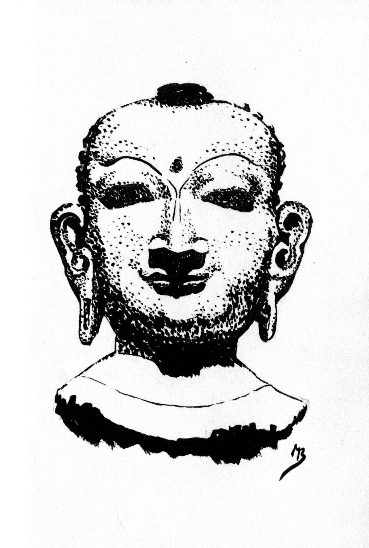 jina Népal dessin musée Guimet