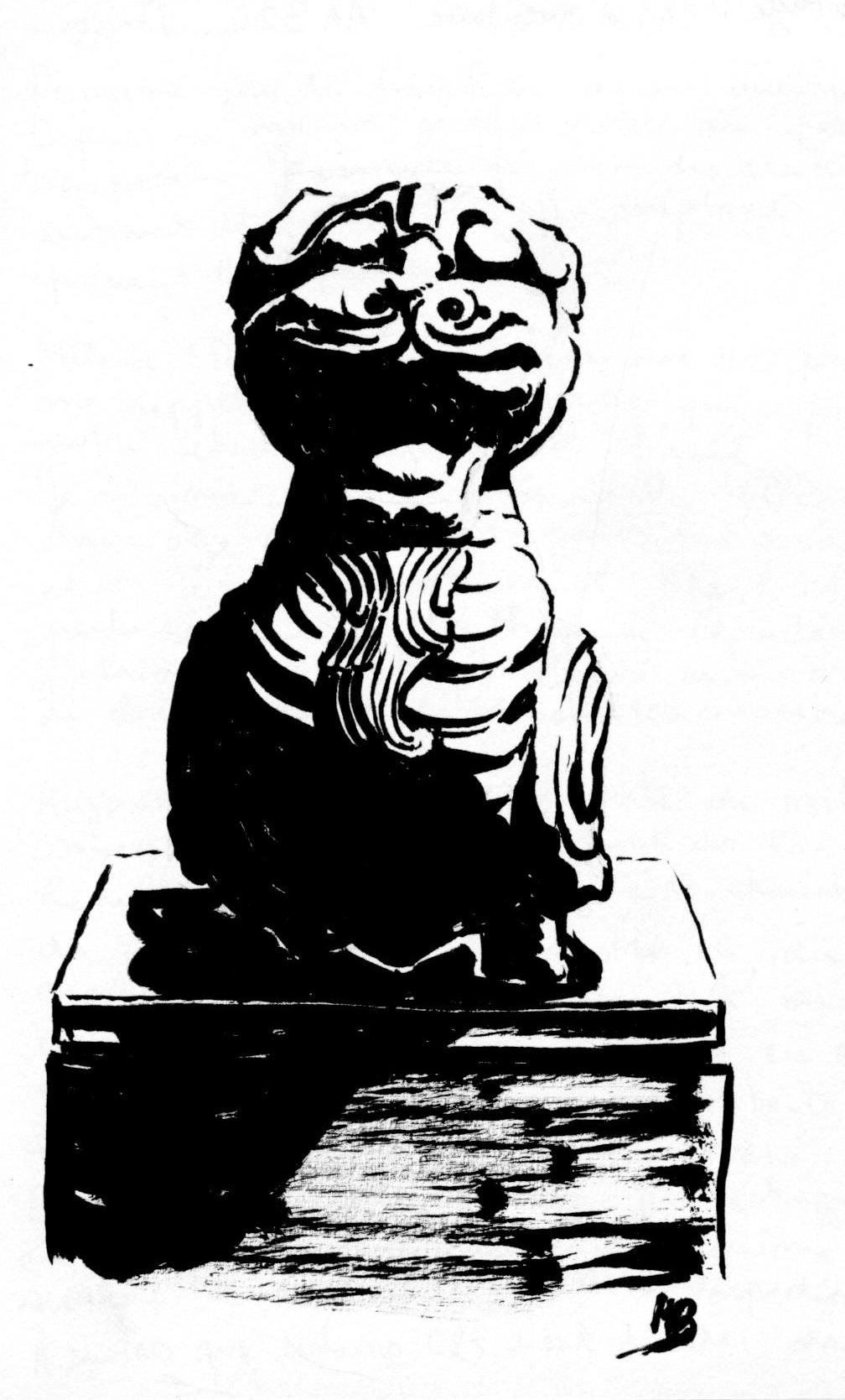 musée Guimet dessin