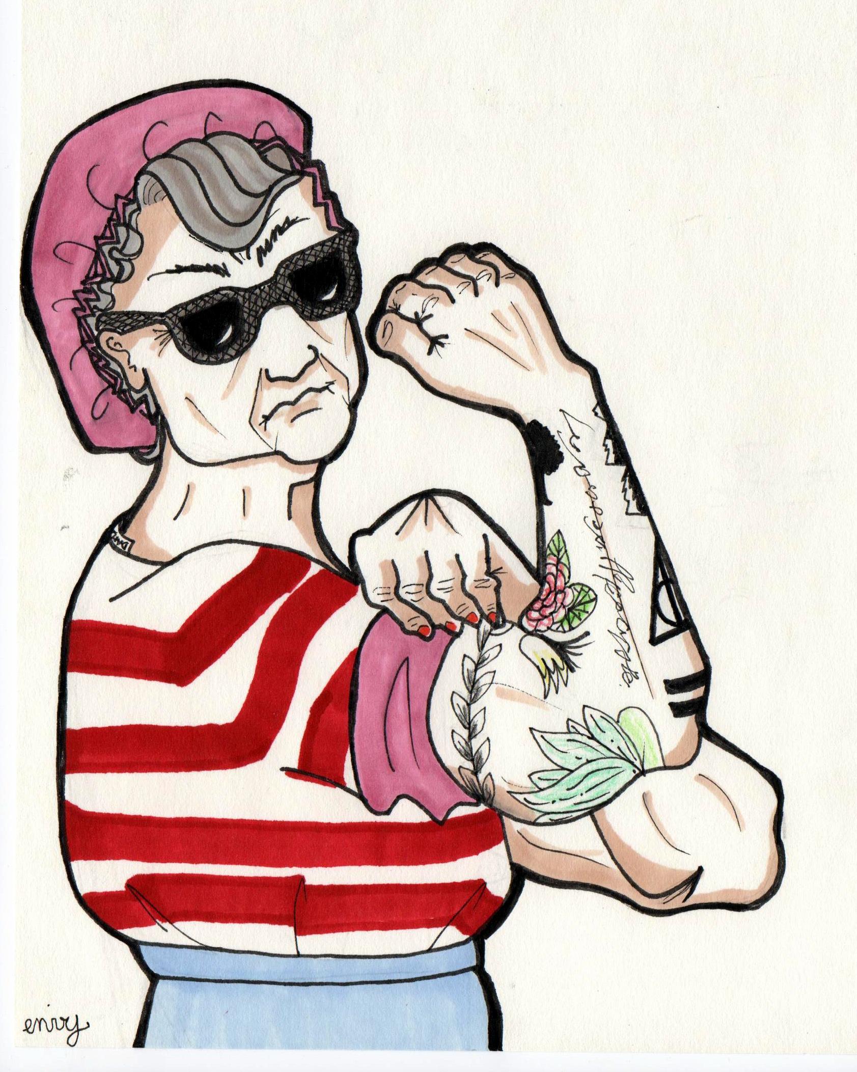 Yvine - questions aux tatoués - tatouage
