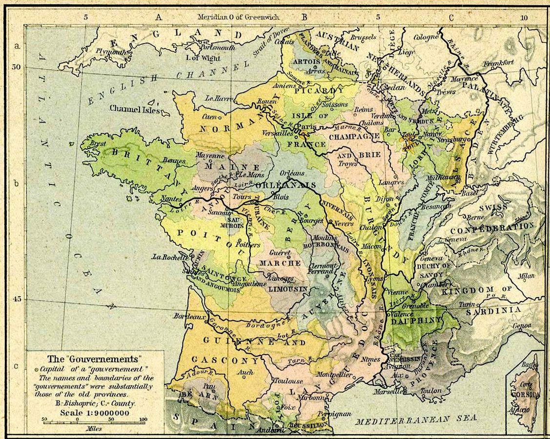 Anciennes provinces de France