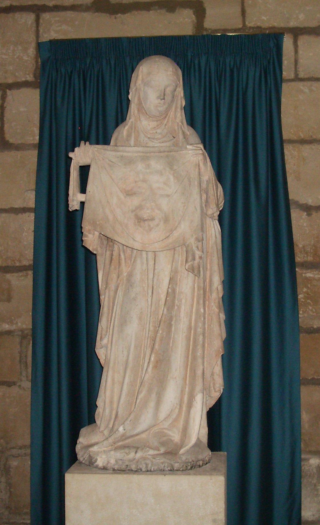 Sainte Véronique - Collégiale Notre-Dame d_Ecouis