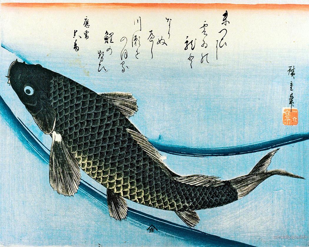 hiroshige-fish